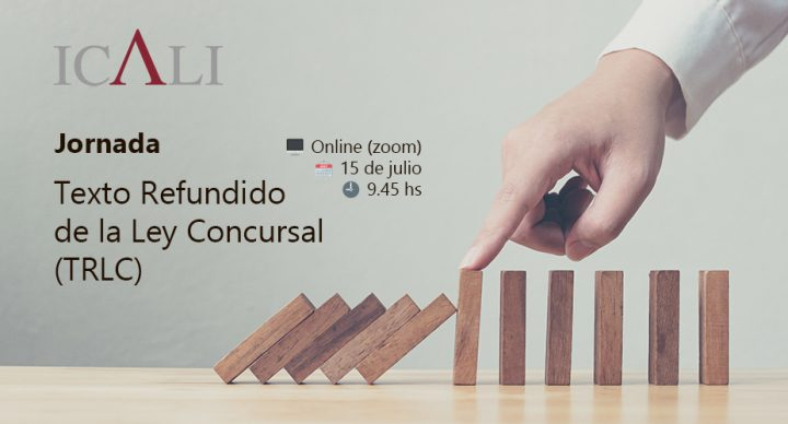 JORNADA SOBRE EL TEXTO REFUNDIDO DE LA LEY CONCURSAL (TRLC) - STREAMING